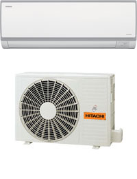 5kW Split System Inverter Air Conditioner Reverse Cycle Hitachi