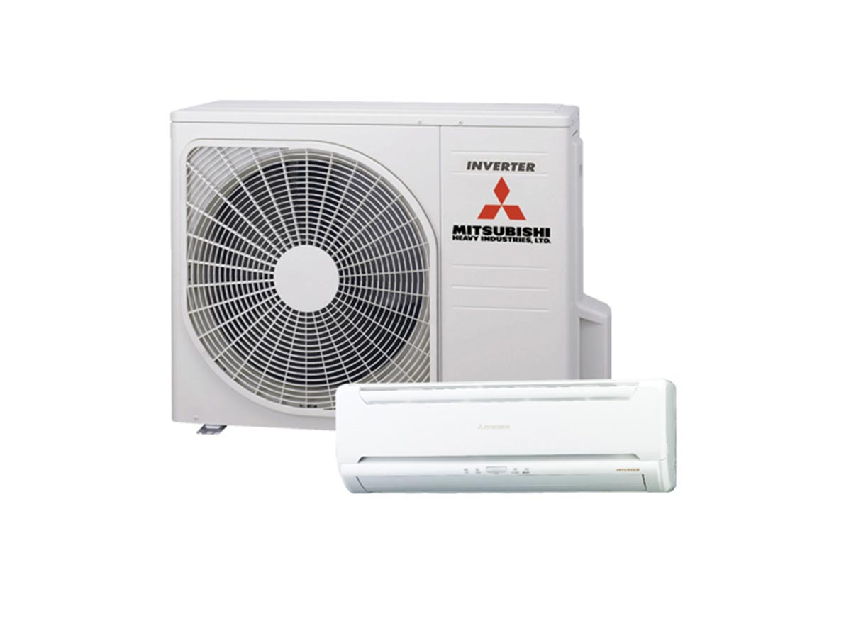 2.5kW Mitsubishi Heavy Industries Reverse Cycle Inverter Split System Air Conditioner